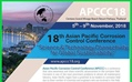 "18th Asian Pacific Corrosion Control Conference   ""Science & Technology Connectivity for Global Sustainability"" (APCCC18)"